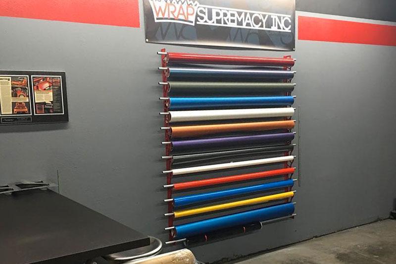 Vinyl Storage Racks